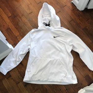Men's White Nike Hoodie
